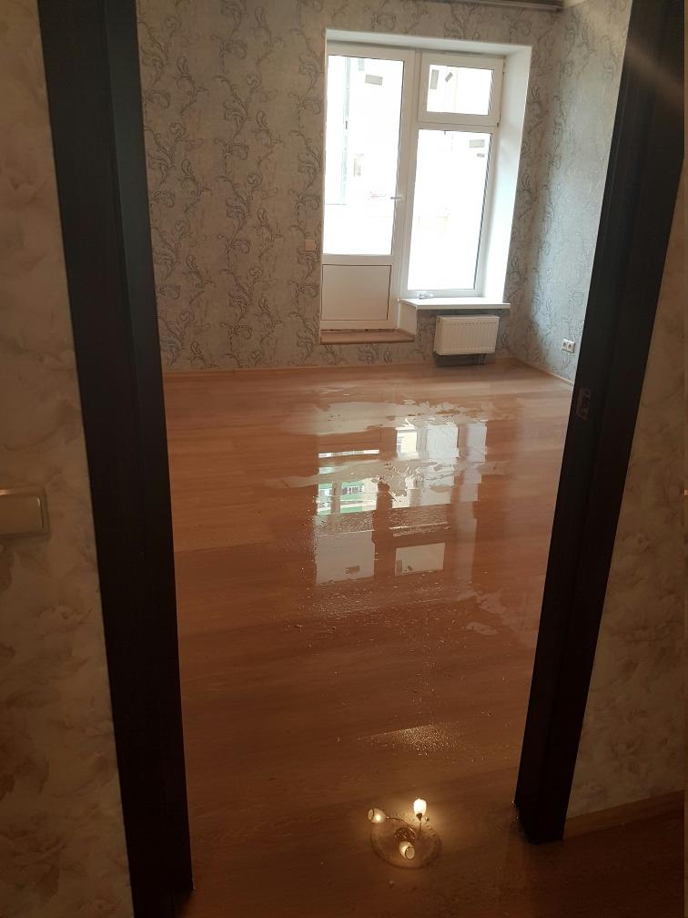 ремонт после потопа квартиры