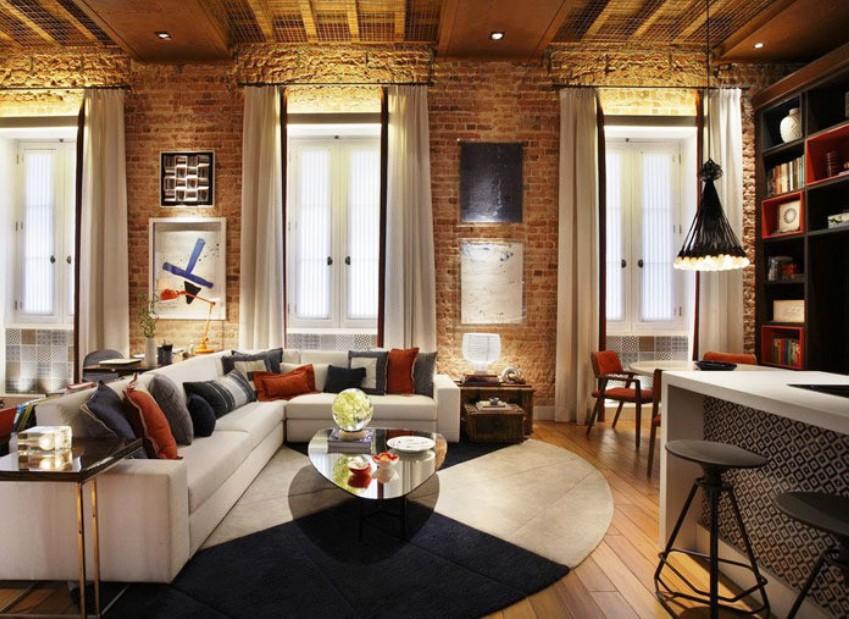Ремонт квартир в стиле лофт