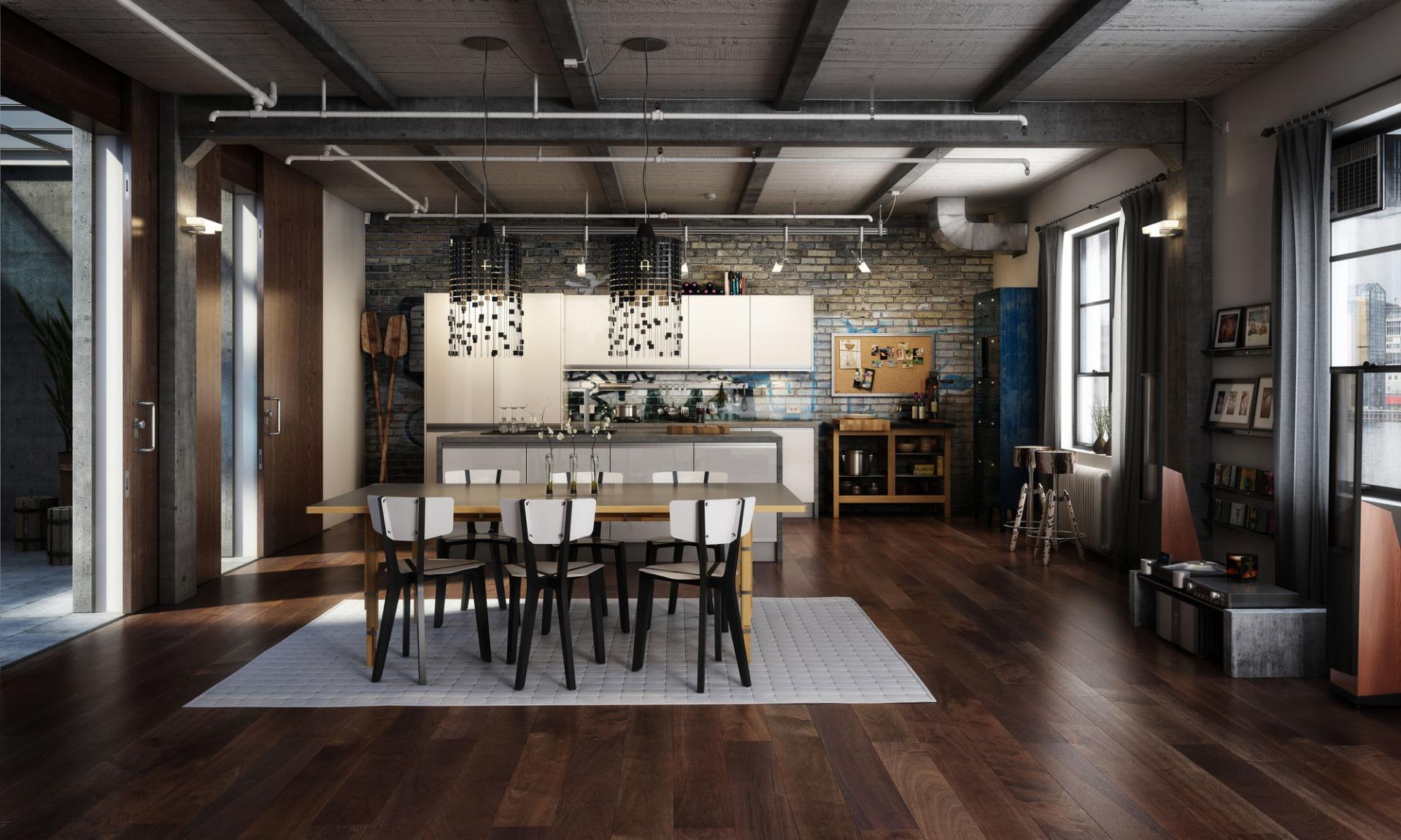 ремонт квартир стиль лофт в москве