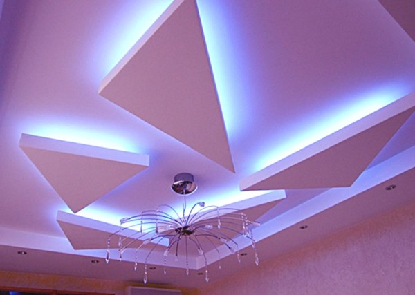мноуровневый потолок