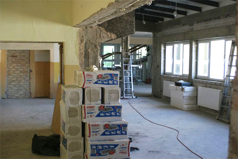 косметический ремонт нежилых помещений