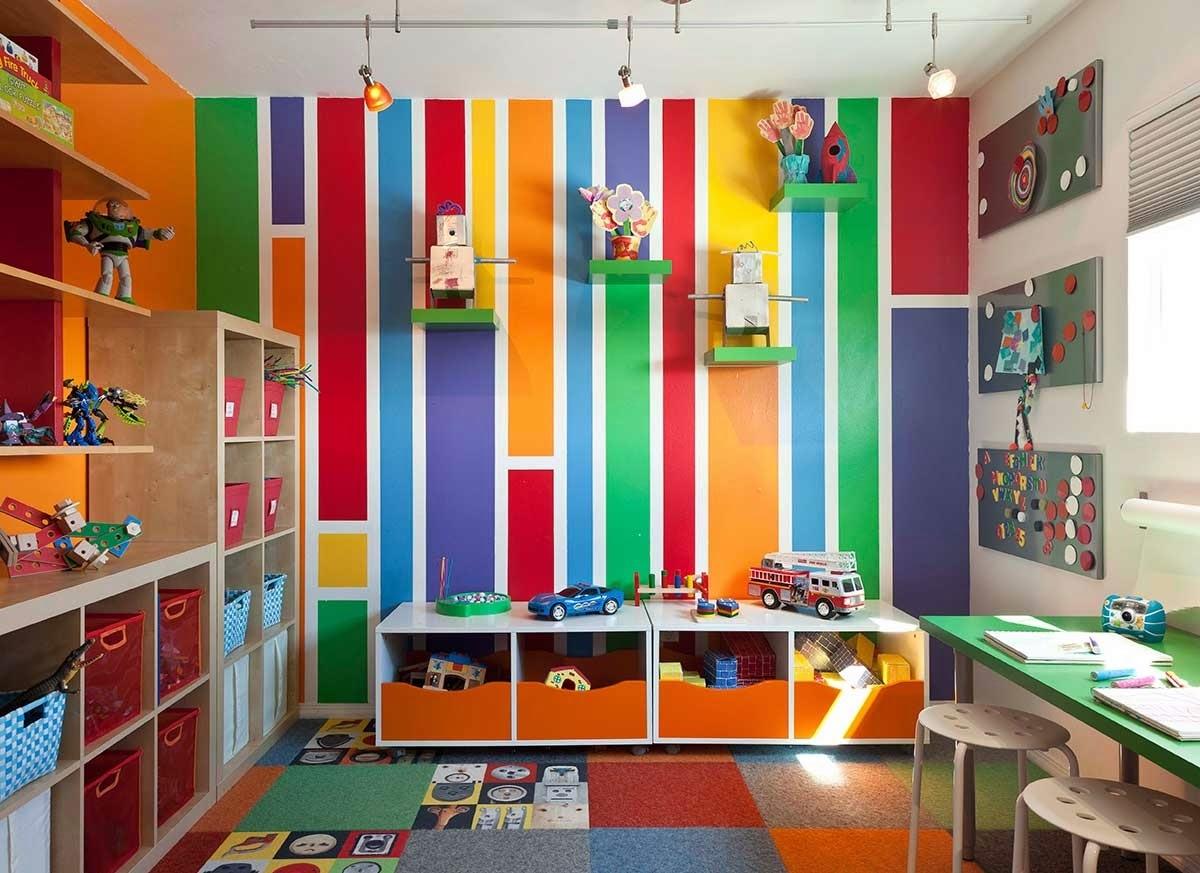 цветные стены