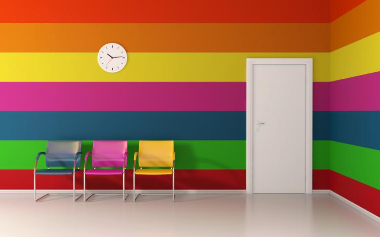 Выбор цвета стен квартиры