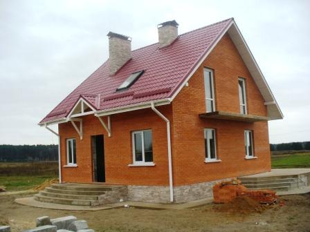 Построить кирпичный дом дешево