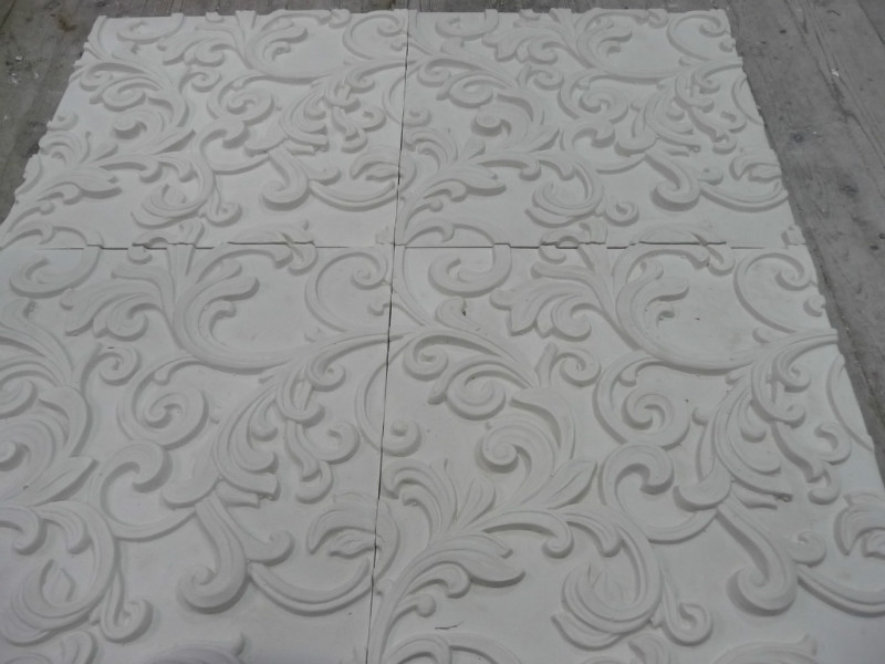 рельефные панели из гипса