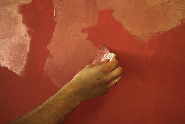 способ нанесения декоративной краски