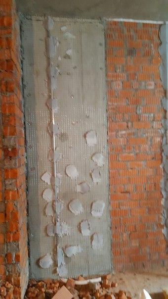 укрепление стен металлической сеткой