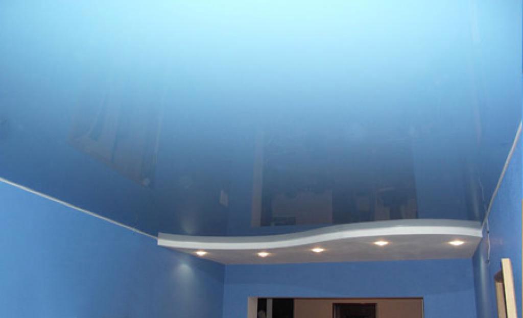 пвх потолок для ванной
