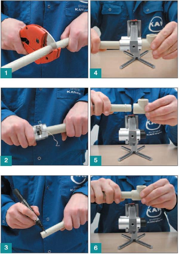Как правильно монтировать трубы из пвх