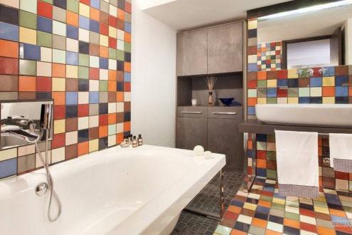 Дизайн ванной при помощи керамической плитки