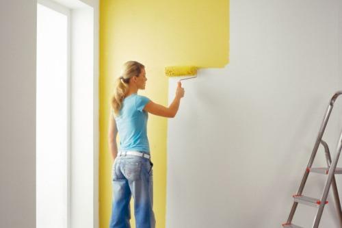 Как самому покрасить стены?